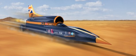 Delcam has manufactured its first component for Bloodhound SSC, part of the steering support column.