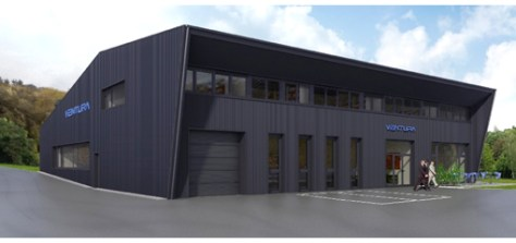 In summer 2014 the company will reach a new level with its new premises.