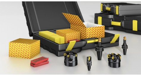 The individual tool selection in these 66 different start-up kits serve applications for common turning centres, machining centres and sliding head machines. The tools are delivered together in one convenient kit in a high quality plastic carry case.