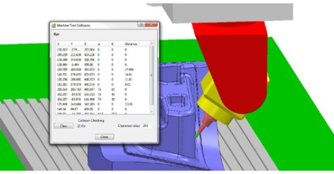 The improved collision detection in PowerMILL 2015 will be demonstrated at IMTS.