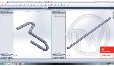 Version 2.6 of the TubeWorks tube bending CAD/CAM software, available from Unison, provides powerful pre-production tools for laser cutting as well as tube bending.