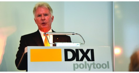 Pierre Castella, Vice-President of Dixi at the inauguration.