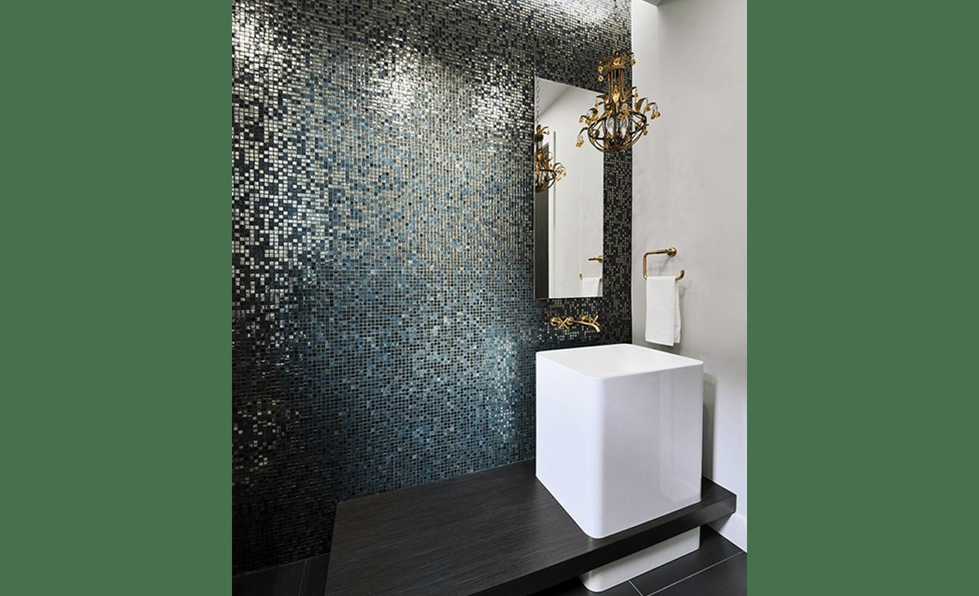 Mosaic Bathroom Fiorenza O'Keefe Design Group