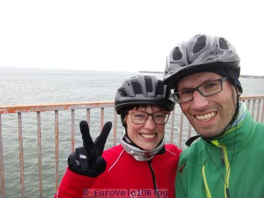 EuroVelo10Blog - Windstärke 7, die Frisur sitzt