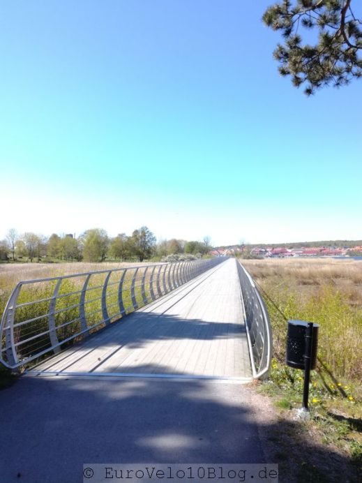 die längste Radfahrbrücke Europas