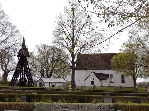 EuroVelo10Blog Etappe 8: Dörby Kirche