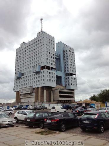 Das Haus der Sowjets (nie fertiggestellte Bauruine)