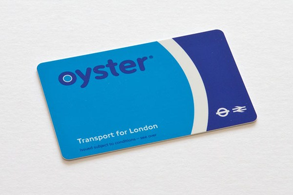Oyster Card Londres
