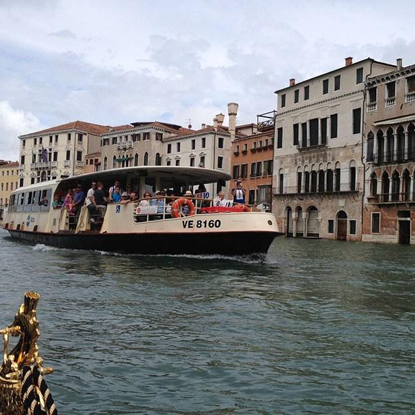 Vaporettos de Venecia