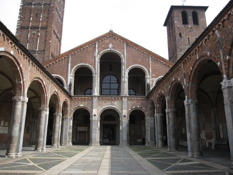 Basílica de San Ambrosio en Milán