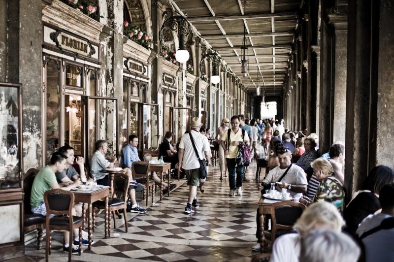Café Florian de Venecia