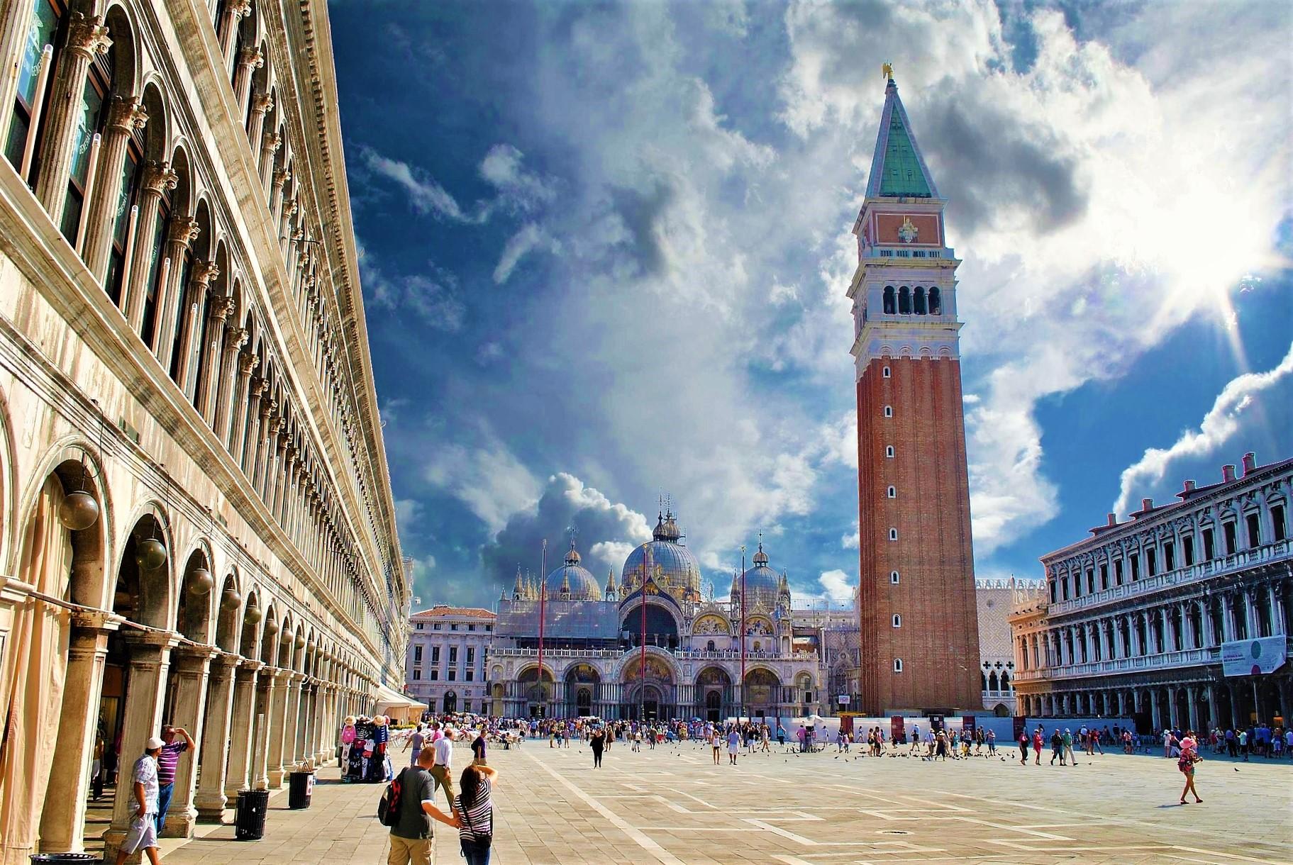 Campanario de Venecia