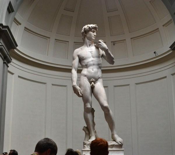 Galería de la Academia en Florencia