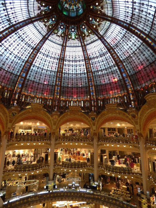 Galerias Lafayette en París