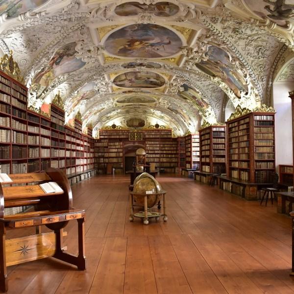 Klementinum, Biblioteca Barroca de Praga