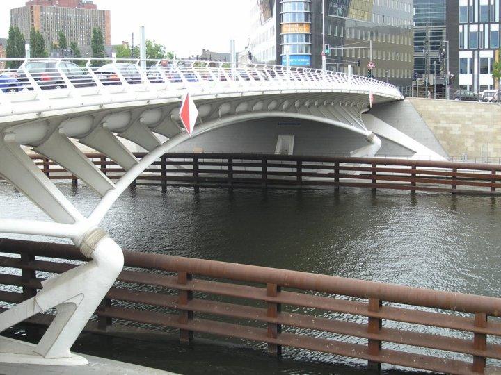 Kronprinzen Bridge in Berlin