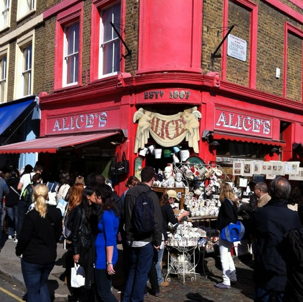 Mercadillo Portobello Road de Londres