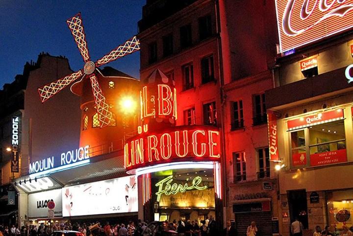 Moulin Rouge en París