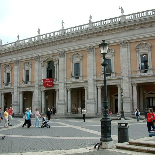 Museos Capitolinos en Roma