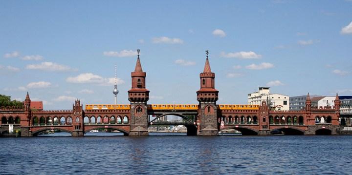 Puente Oberbaum de Berlín
