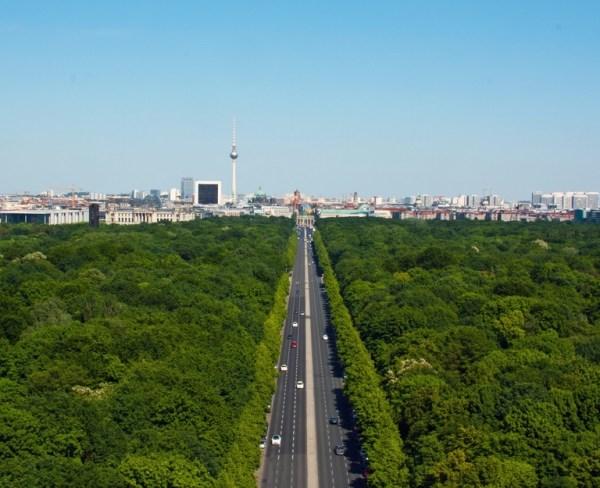 Parque Tiergarten en Berlín