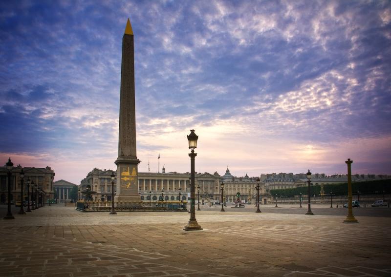 Plaza de la Concordia en París
