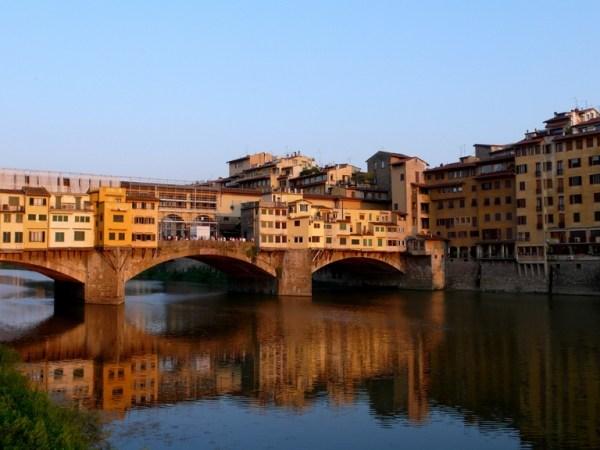 Ponte (Puente) Vecchio en Florencia