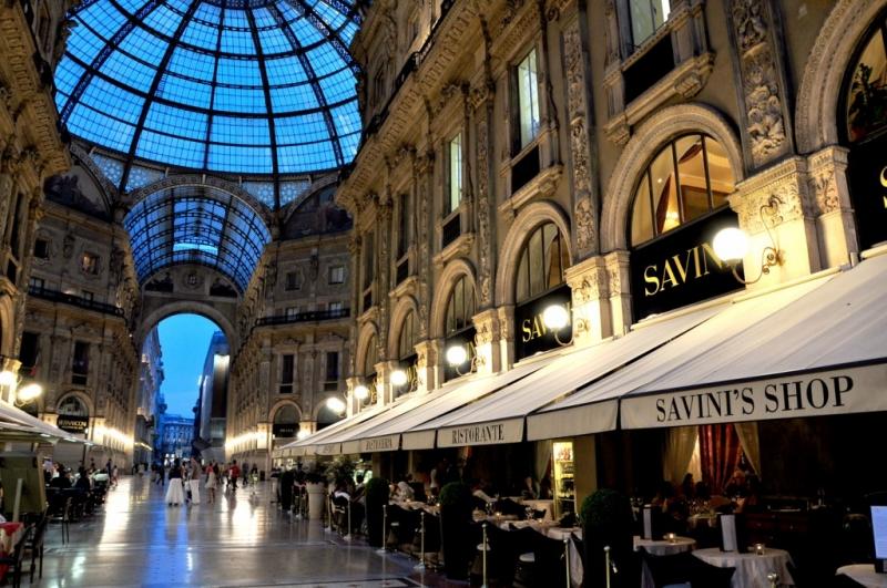 Restaurante Savini en Milán