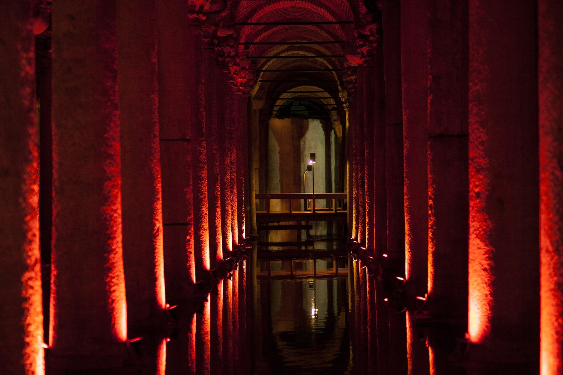 Cisterna Basílica en Estambul