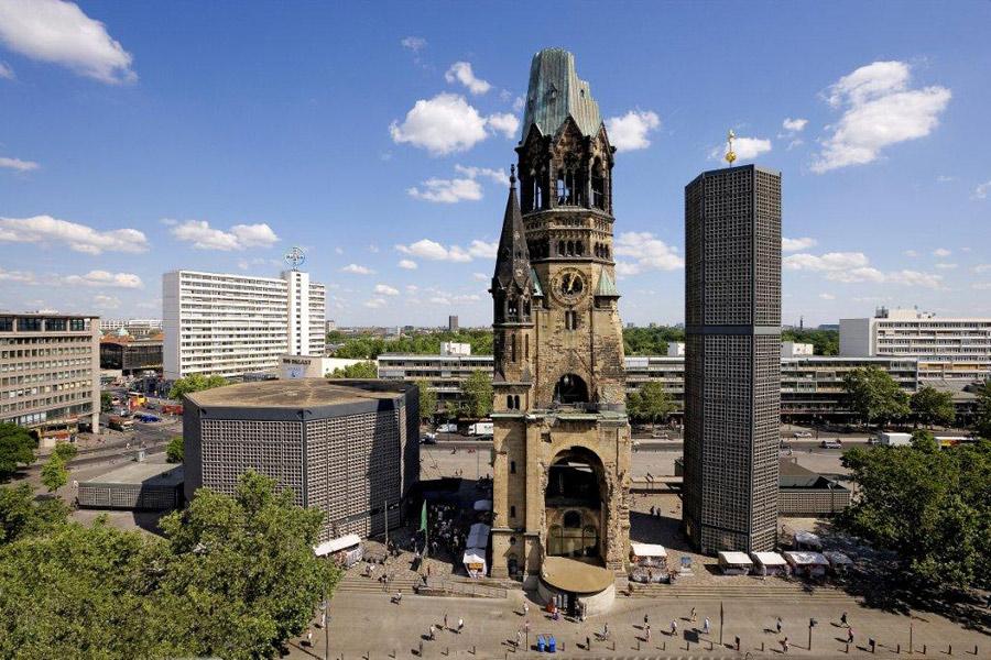 Iglesia Memorial del Emperador Guillermo en Berlín