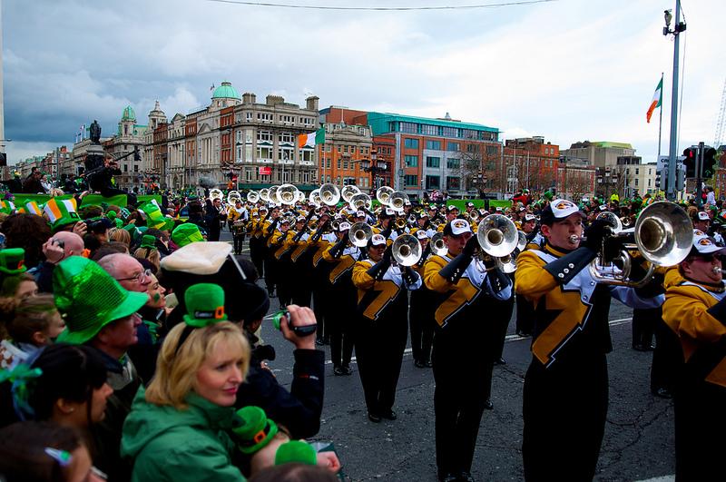 Celebrar San Patricio en Dublín