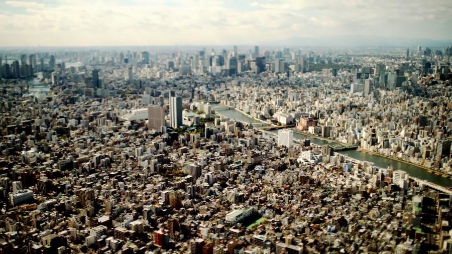 Tokio desde el Arbol del Cielo