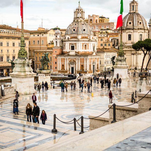 Compras en Roma
