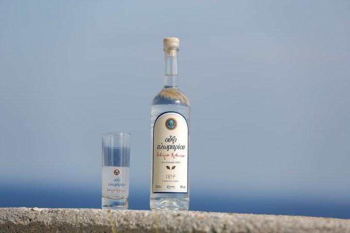 Ouzo bebida típica de Grecia