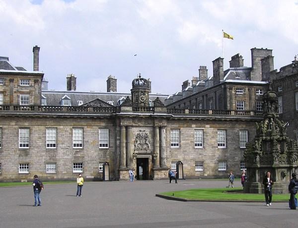 Palacio Holyrood de Edimburgo