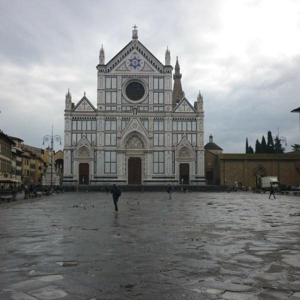 Iglesia de Santa Croce en Florencia