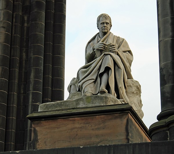 Sir Walter Scott en Edimburgo