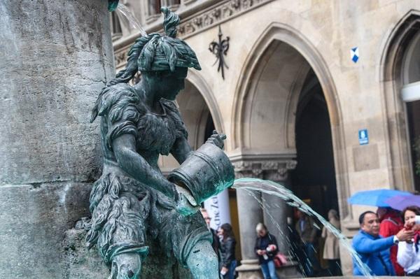 Fuente de los pescadores, Múnich