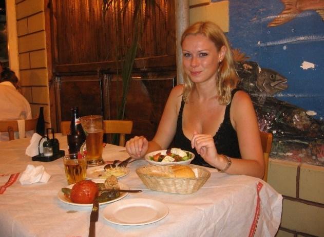 Disfrutando de la Deliciosa Comida Griega