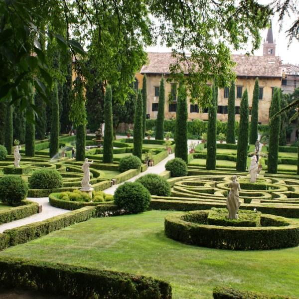 Jardín Giardino Giusti de Venecia