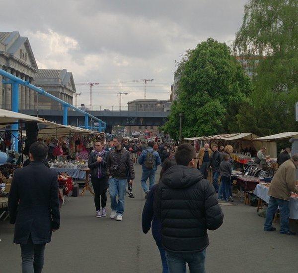 Mercado del Bode Museum en Berlín