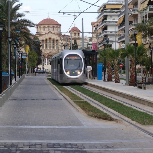 Tranvía de Atenas