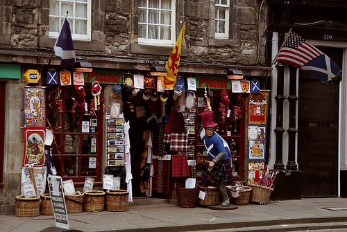 De compras en Edimburgo
