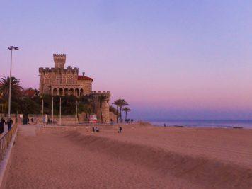 Romantic evening in Praia de Tamariz – Estoril