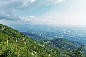 Albania - best places - Dajti Express - gondola lift from Tirana to Dajti Mountain