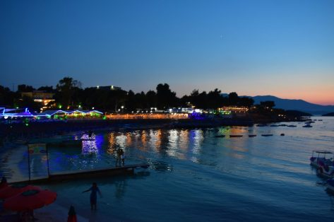 Ksamili by night