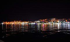 Lively nightlife of Saranda, Albania