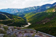 Mountains surrouding the Borshi Castle
