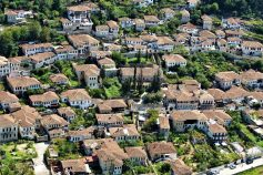 Albania best places - Traditional Ottoman architecture of Berati, Albania