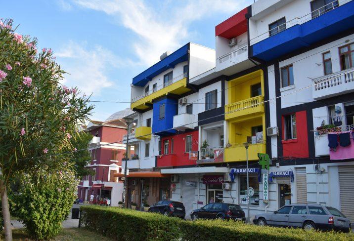 A pharmacy in Durrës, Albania